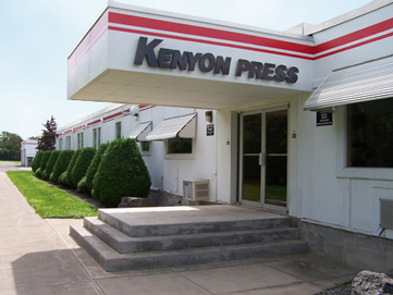 Kenyon Press Entrance